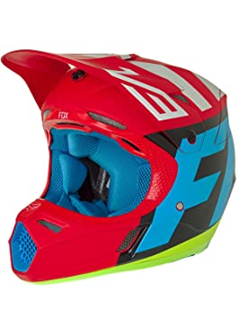Fox Casco V3 Creo, V3 Creo, rojo, medium