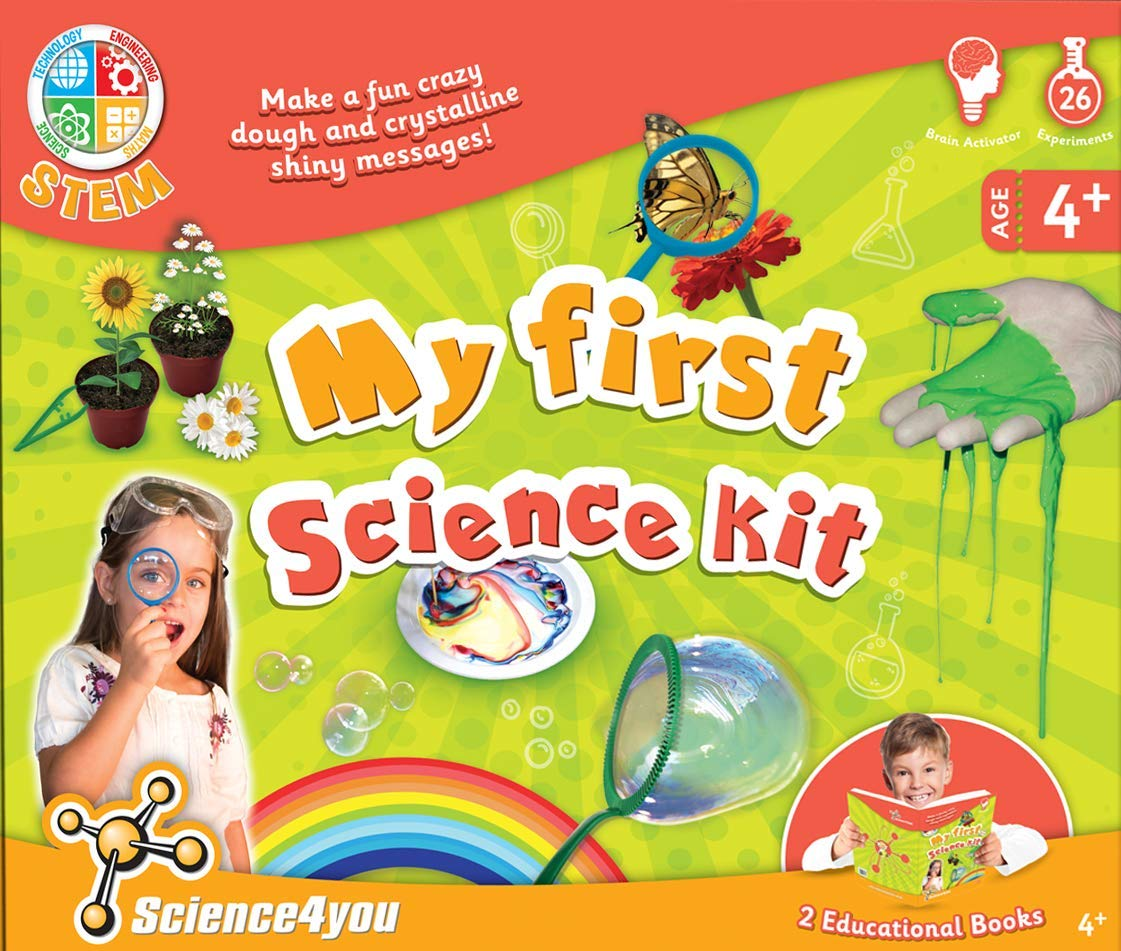 Science4you SY601482 My First Science Kit, Educational Science STEM Toy