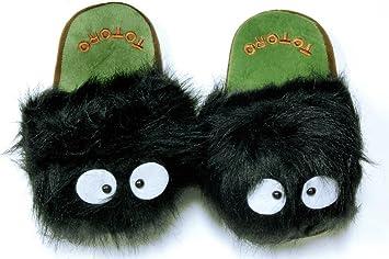 0d019da5f76d Totoro  Dust Bunny - Makkurokurosuke- Slippers (Pair) -- Yao Design ...