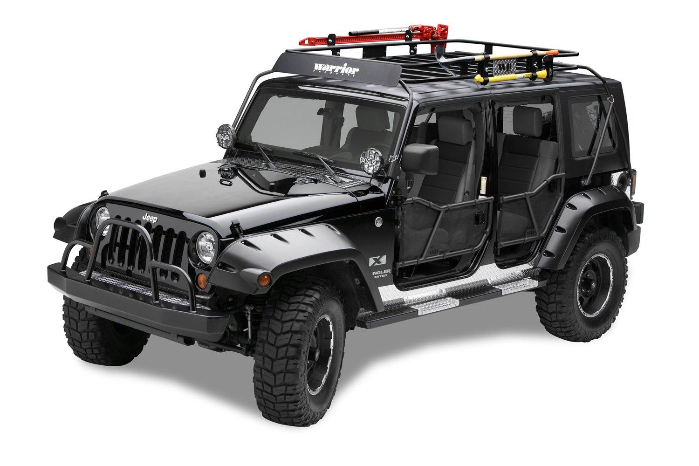 Amazon.com: Warrior Products 877 Safari Sport Rack for Jeep JK 07-10