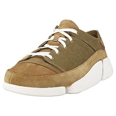 Clarks Clarks Clarks Herren Olive Trigenic Evo Sneakers  Amazon   Schuhe ... 7d02f2