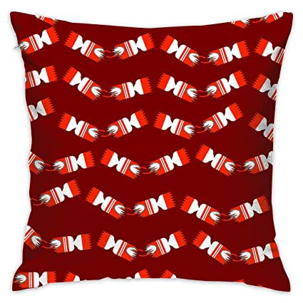 markui throw pillow cover christmas crackers bed sofa pillow case sleeping pillow soft cushion 18