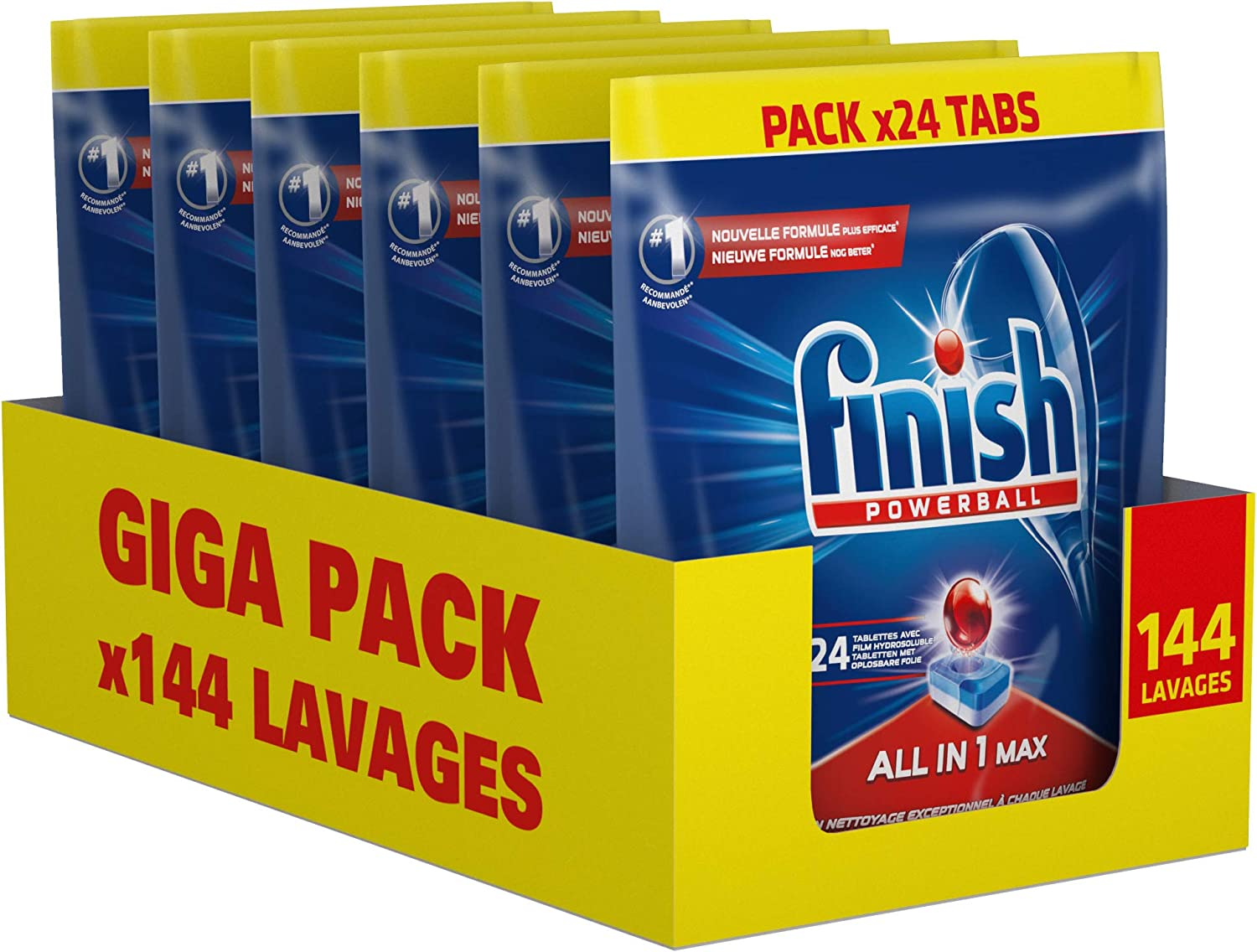 Finish Powerball All-in-1 Max en promotion