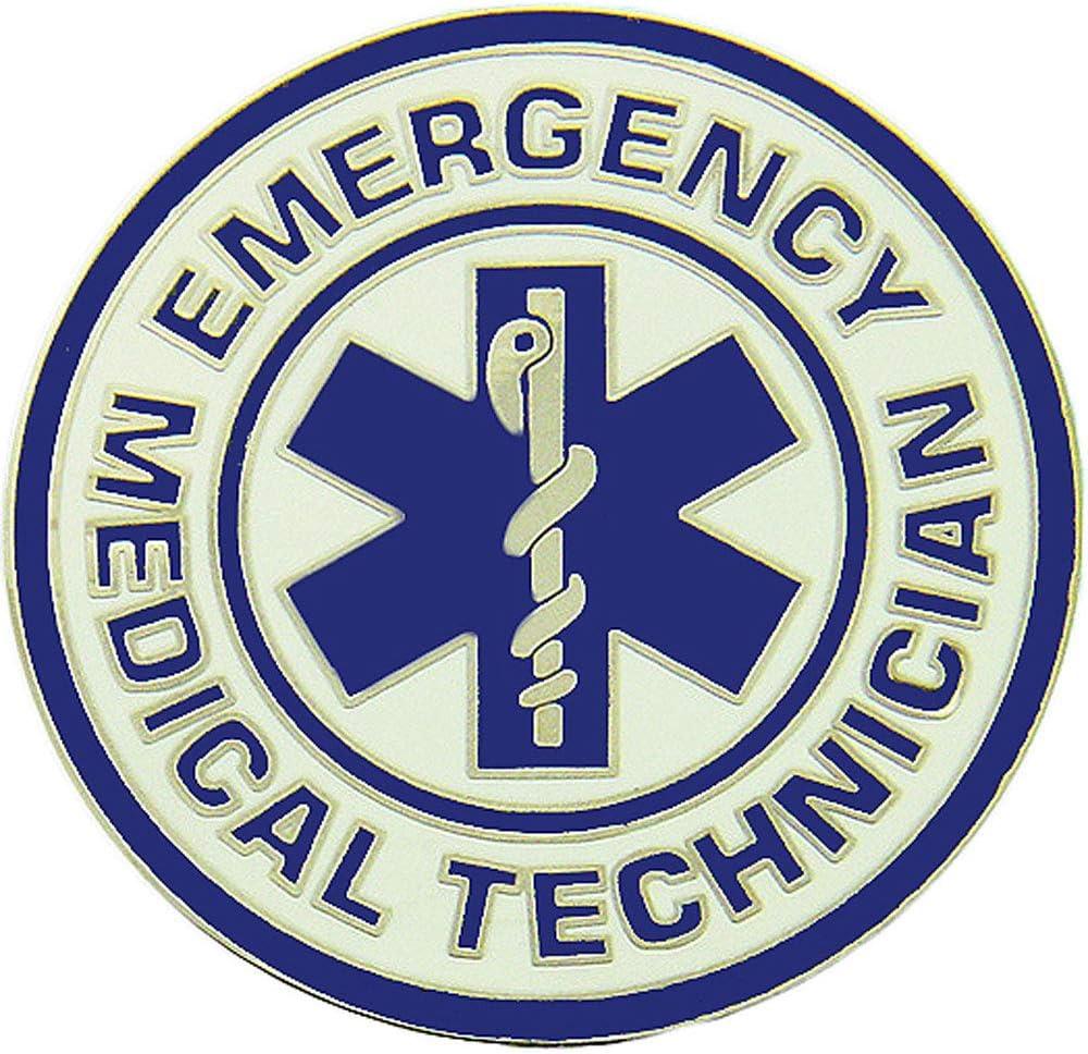 1.5 Artwork Original Famous Pins /& Lapels Fire /& EMS Expertly Designed Pin Large Emergency Medical Care First Responder
