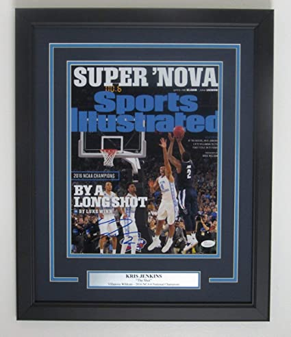 Kris Jenkins Villanova Basketball Signed 11x14 Photo The Shot 2016 Champs Coa Autographs-original Sports Mem, Cards & Fan Shop