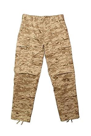 Amazon.com  Desert Digital Camouflage BDU Pants Large  Rothco Desert ... 055b6de32