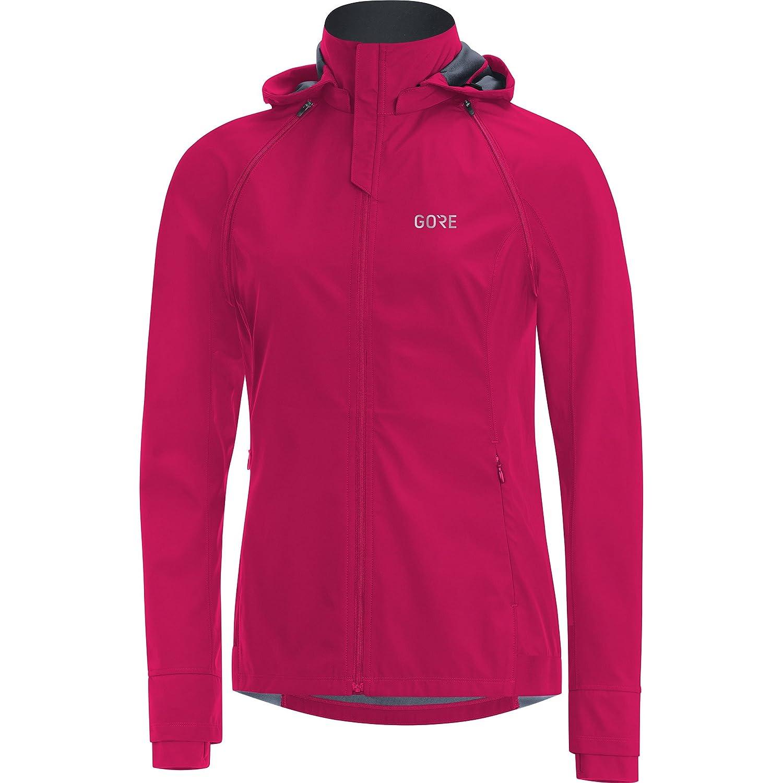Gore Wear, Mujer, Chaqueta Cortavientos con Capucha para Correr, Gore R3 Women Gore Windstopper Zip-Off Jacket, 100074