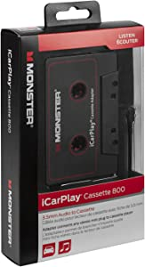 "Monster MBL 800 CAS-ADPT V2 WW High Performance 800 Cassette Adapter to 1/8"" Mini 3 Feet"