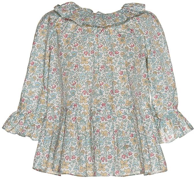 Nanos 2513555818 - Blusa para niña, Color Verde Agua, Talla 3 años