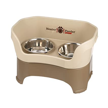 The Mess Proof Elevated Neater Pet Brands Neater Feeder Deluxe Dog all Sizes