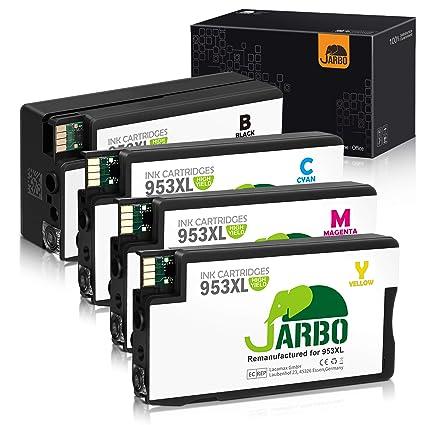 JARBO Cartuchos remanufacturados 953XL para HP 953XL 953 XL y HP ...