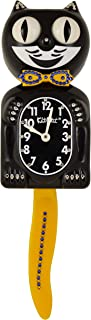 product image for Kit Cat Klock Limited Edition Yellow/Blue Swarovski Crystals Jeweled Clock