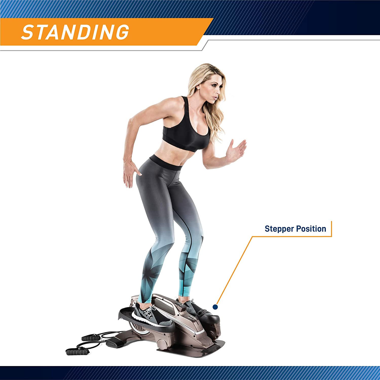 Bionic Body Magnetic Tension Under Desk Elliptical Standing