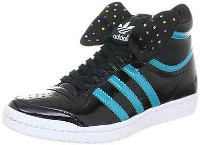 adidas Originals TOP TEN HI SLEEK BOW W G61360, Damen Sportive Sneakers,  Schwarz ( fbfdb375b3