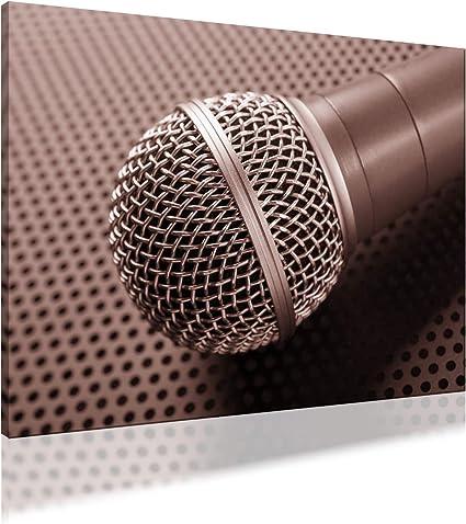 AbsorPic Foto Premium Akustikbild música, micrófono, canto 200 x ...