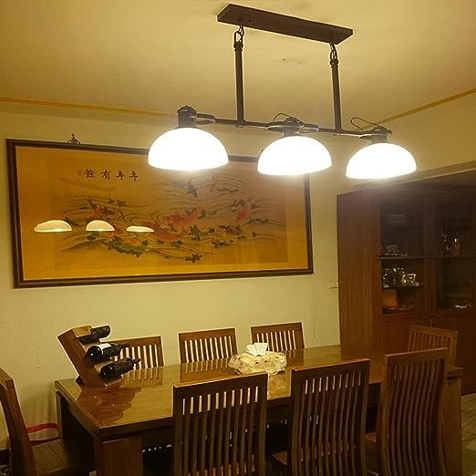 pendant lights American Village Nordic Tres Restaurante Luz ...
