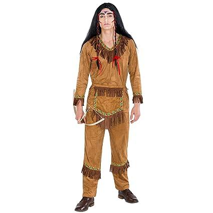 TecTake dressforfun Disfraz para Hombre Gran Jefe Indio Zorro ...