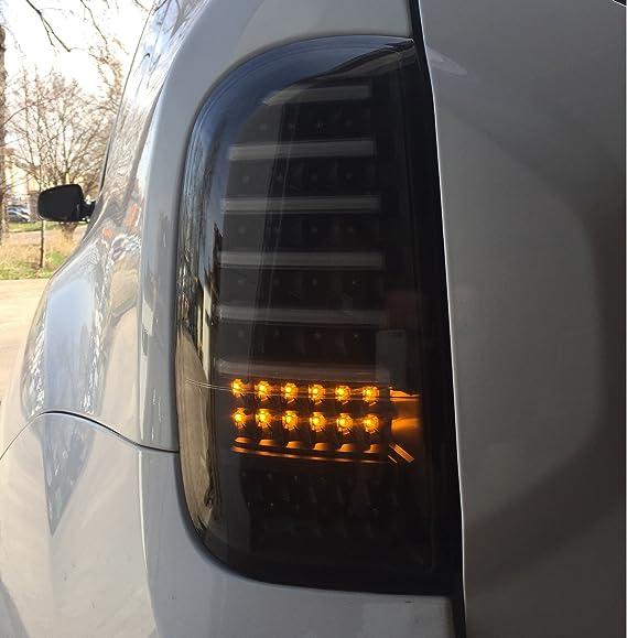 Lightbar Voll Led Rückleuchten Tiefschwarz Rd02lbsy Litec Schwarz Heckleuchte Laufblinker Auto