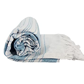 Turco lungri toalla algodón toalla de baño Spa Yoga Gimnasio toallas de playa (176 cm X 79 cm): Amazon.es: Hogar