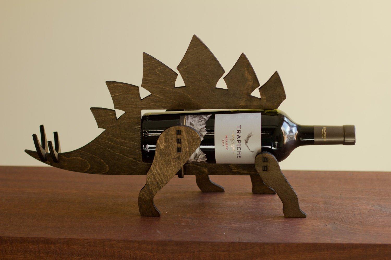 Stegosaurus Wine-O-Saur Wine Rack