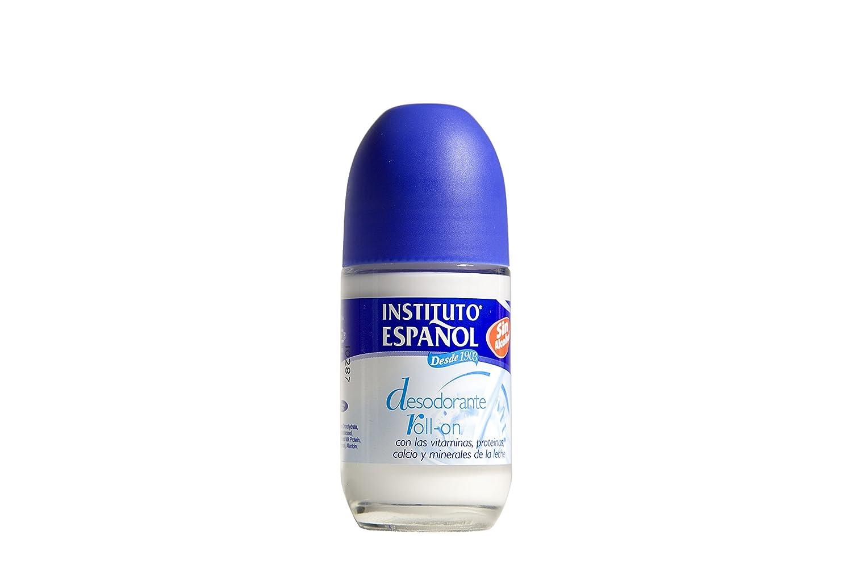 Instituto Español Desodorante Roll On con Leche y Vitaminas - 75 ml: Amazon.es: Belleza