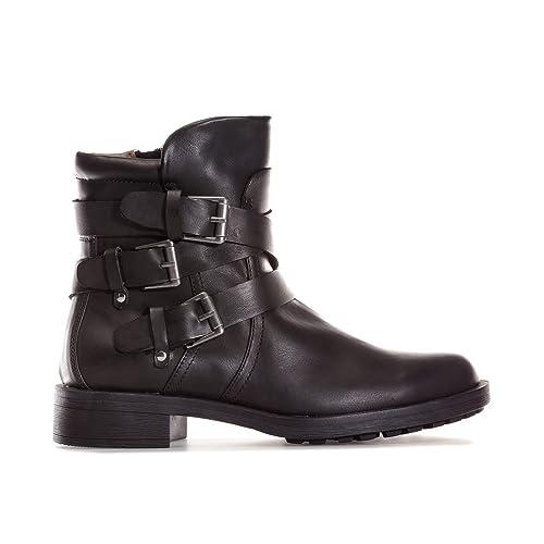 Bottes Vero Vilma Femme Noir Moda Chaussures Moda 6qHxvO