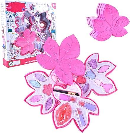 per Set Cosméticos Infantiles Estuches de Maquillaje para Niñas 5 Años Regalo Creativo para Cumpleaños: Amazon.es: Hogar