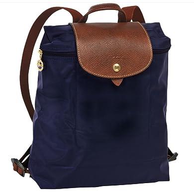 Longchamp Le Pliage Back Pack (Navy Blue)  Amazon.co.uk  Shoes   Bags 5ed49cf621009