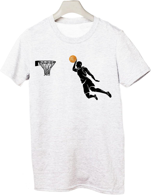 Tshirt – Baloncesto – Basketball Sport – Todas Las Tallas by tshirteria, Bianco, XL: Amazon.es: Deportes y aire libre