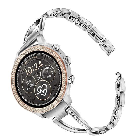 Amazon.com: TRUMiRR - Correa de reloj para Michael Kors de ...