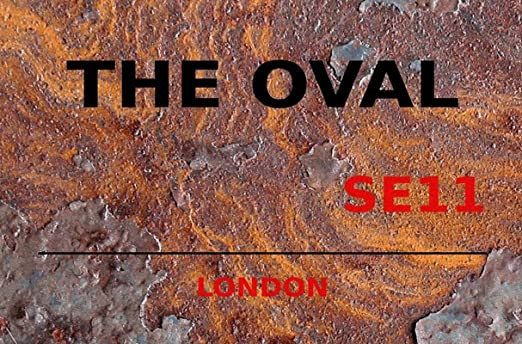 generisch Cartel de Chapa 20 x 30 cm The Oval SE11 Cartel de ...