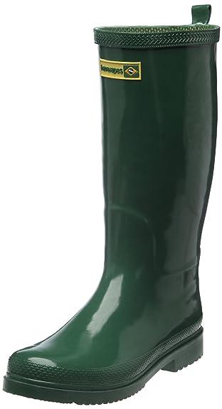 Bottes D'eau Hawaïenne Bottes De Pluie, Unisexe Adulte, Vert, 40 I (38 Brazilian)
