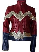 Spazeup Wonder Woman Gal Gadot Diana Prince Jacket Costume