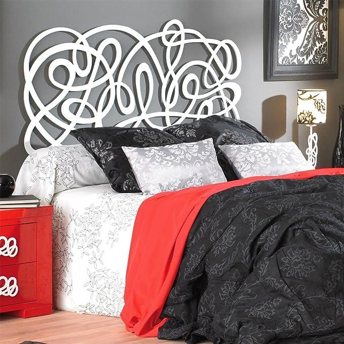 Cabecero de Forja JEREZ MURAL para colchón de 180 cm, color negro: Amazon.es: Hogar
