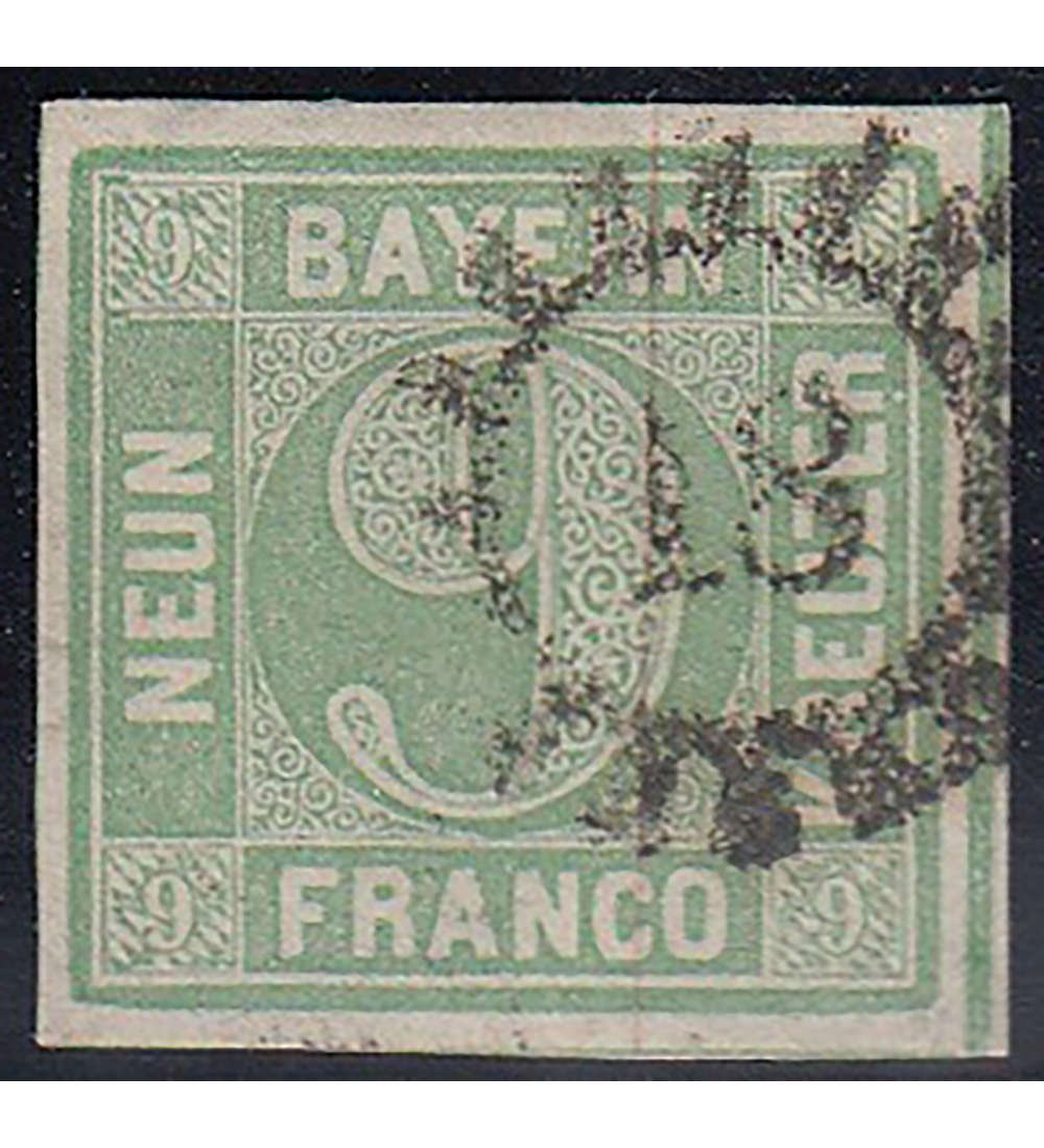 Goldhahn Goldhahn Goldhahn Bayern Nr. 5 b III gestempelt geprüft Briefmarken für Sammler f72c06