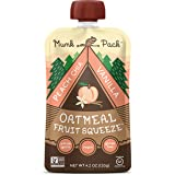 MUNK PACK Oatmeal Fruit Squeeze Punch Vanilla 6, 4.2 oz