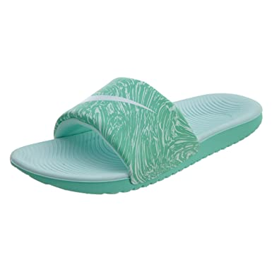 new product cc377 b765c Nike Kawa Slide Print (gsps) Big Kids 819359-300 Size 1