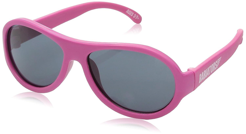 Babiators - Gafas de sol infantiles super resistentes, montura 100% caucho Black Ops Black