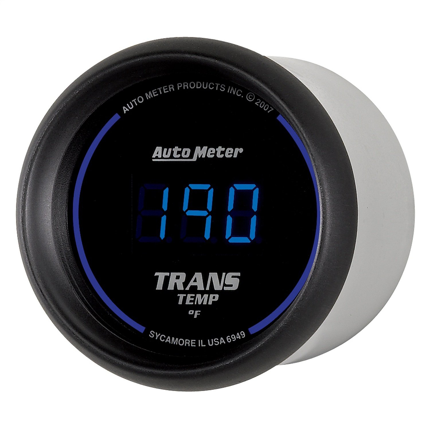 Auto Meter 6949 Cobalt Digital Transmission Temperature Gauge by Auto Meter
