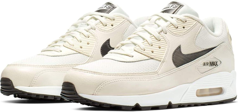 Nike Men s Air Max 90 Essential Shoe AJ1285-107 Sail White-Pure Platinum-Black