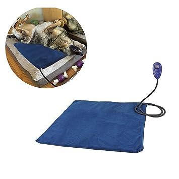 Haol Calentador para Mascotas Alfombrilla Calentadora Eléctrica para Perros Gatos Chew Resistant Cord: Amazon.es: Deportes y aire libre