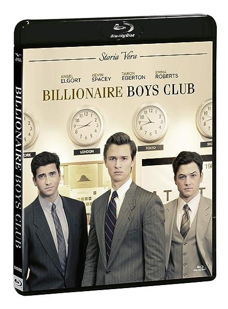 Billionaire Boys Club Blu-Ray+Dvd Italia Blu-ray: Amazon.es ...