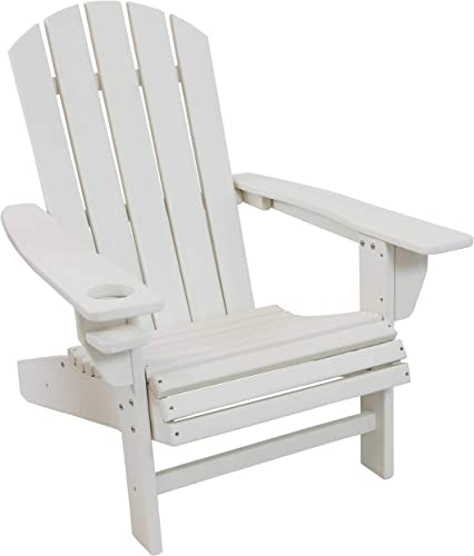 Sunnydaze All-Weather Outdoor Adirondack Chair