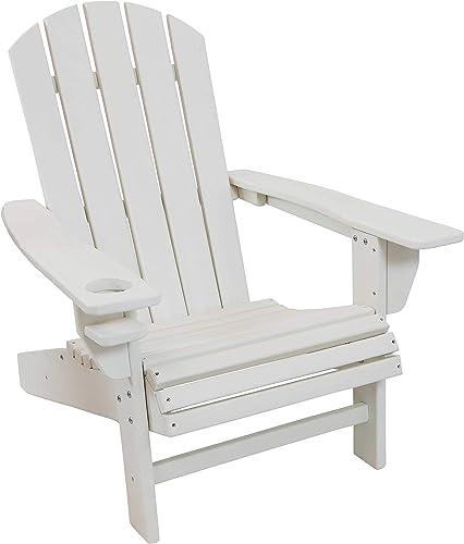 Sunnydaze All-Weather Outdoor Adirondack Chair