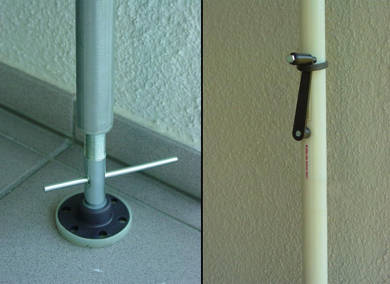 Angerer Angerer Angerer Balkon Sichtschutz uni orange Polyacryl, 150 cm breit, 2317 1006 5726bb