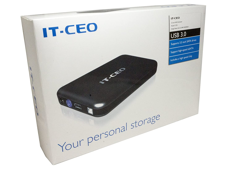 IT735U3 e-SATA/USB 3.0 Caja Externa de Unidad de Disco Duro de 3,5