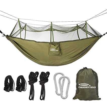 Amazon Com Forbidden Road Camping Hammock Single Double Mosquito
