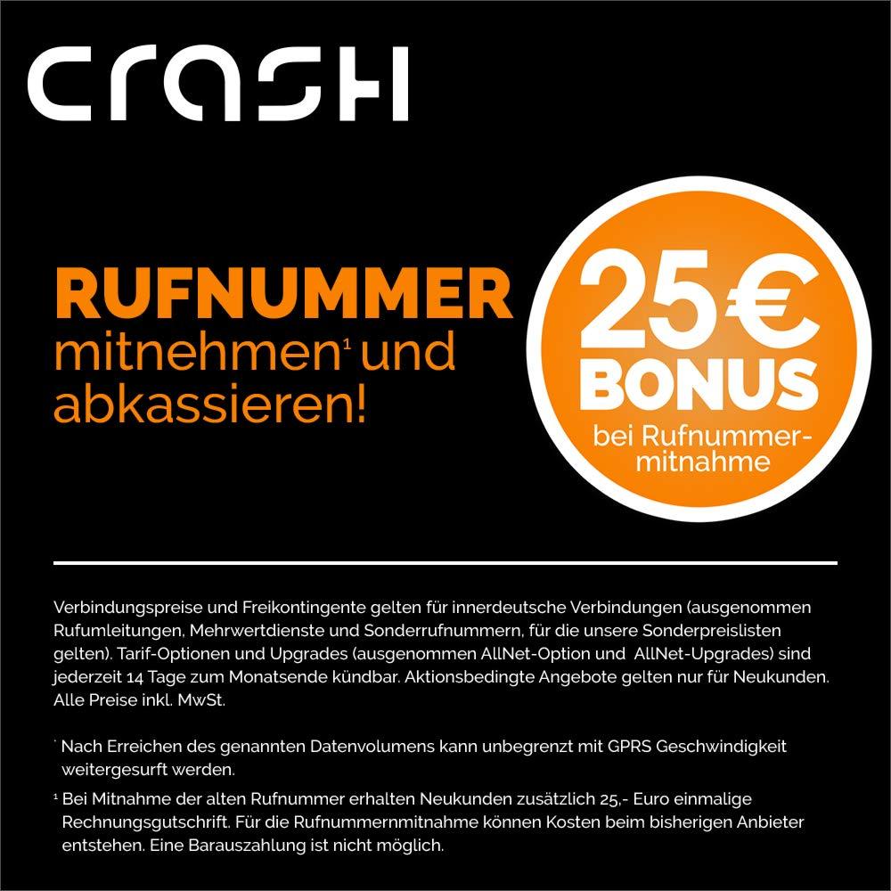 Crash Allnet Flat L Mit 4 Gb Internet Flat Max 216 Amazon