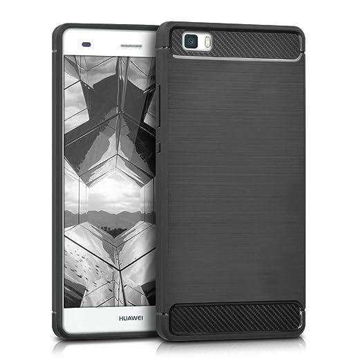 122 opinioni per kwmobile Cover per Huawei P8 Lite (2015)- Custodia in silicone TPU- Back case