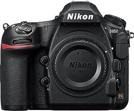 Nikon D850 Cámara Body D850, 4K Ultra HD, 45.7Mp, Color Negro